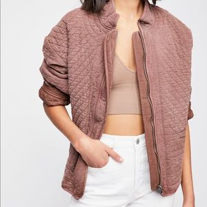 Free People Sarah Quilted Jacket